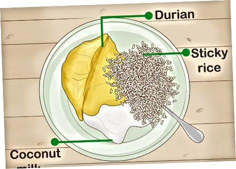 Ngrënia e mënyrave të tjera të Durian