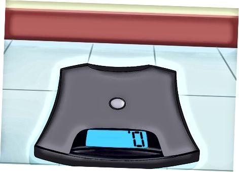 अपने आप को वजन करने के लिए एक होम स्केल का उपयोग करना