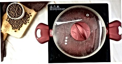Gekochte Perlen für Getränke oder Desserts