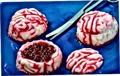 """Aptarnauja """"Zombie Brain Jello Shots"""" smegenis"""