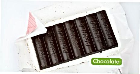 准备巧克力