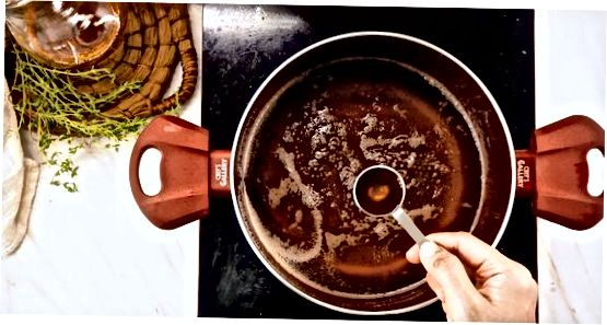 Vanil Maple siropini tayyorlash