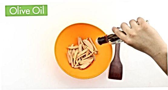 Süßkartoffel-Pommes backen