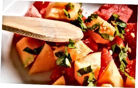 Solata iz lubenice in kantalupe
