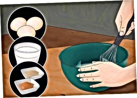 Прављење ирског сочног хлеба француски тост