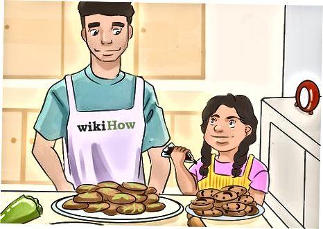 Kinder in den Kochprozess einbeziehen
