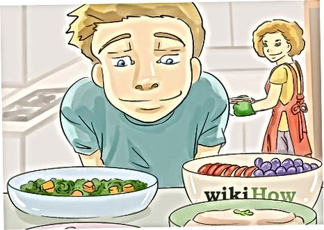 Entscheiden, was für Kinder gekocht werden soll