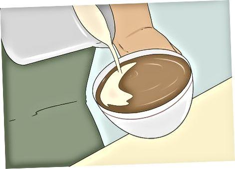 Einen Cappuccino machen