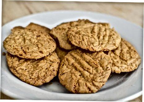 Klasikiniai žemės riešutų sviesto sausainiai