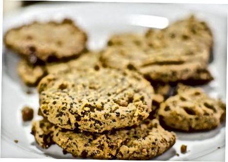Veganiški žemės riešutų sviesto sausainiai