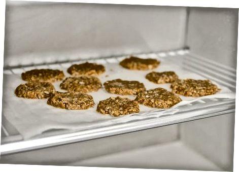 Žemės riešutų sviesto avižiniai sausainiai