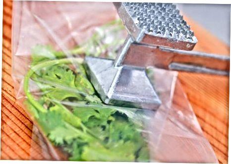Сушење биљака