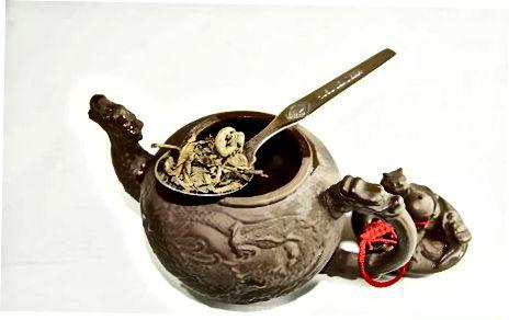 Пуњење чаја чајем