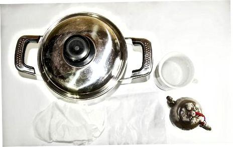 Коришћење лонца за воду
