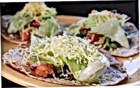 Undirbúðu Carne Asada Tacos