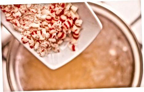 Knust godteri-mynte gelé