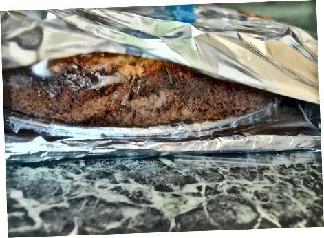Ngrirje të Cheesecakes Whole