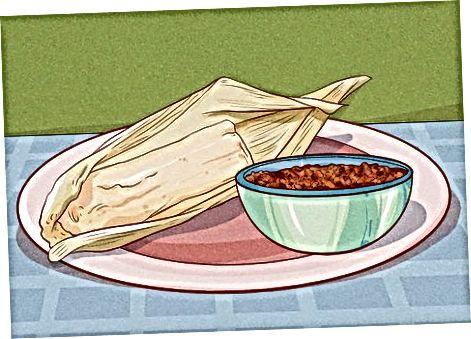 Tamalesni boshqa oziq-ovqat va ichimliklar bilan ulash