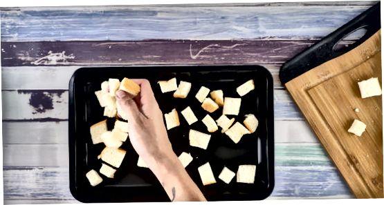 Duonos skrudinimas ir laikymas