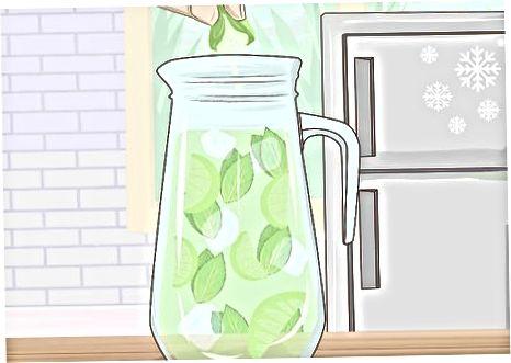 სასმელების დამზადება ლიმნის ბალზით