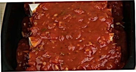 Confecció de Tex-Mex Enchiladas