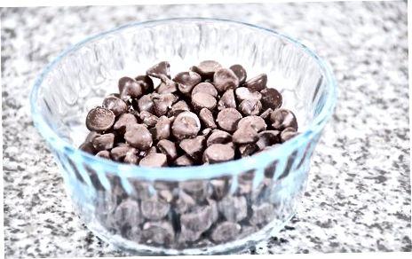 Savo šokolado pirkimas ir tirpinimas