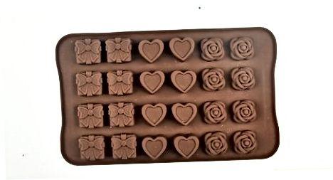 Formuokite savo išlydytą šokoladą