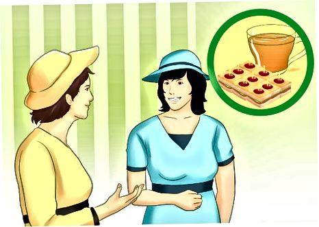 Të kesh një çaj të lartë në stilin anglez