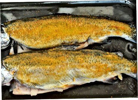 Izdelava rib z začimbami indijskega porekla