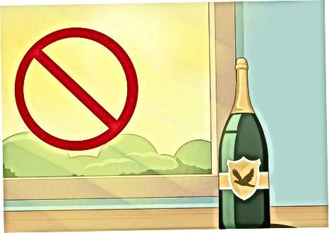Чување шампањца испод 1 месеца