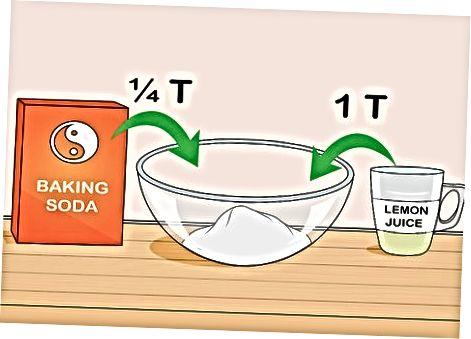Iskanje nadomestkov za pecilni prašek