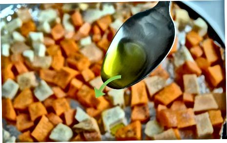 Steikt blanda af haustgrænmeti