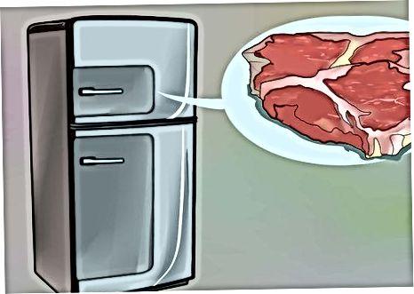 خرید و ذخیره گوشت گاو خام