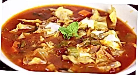 Diettkål suppe