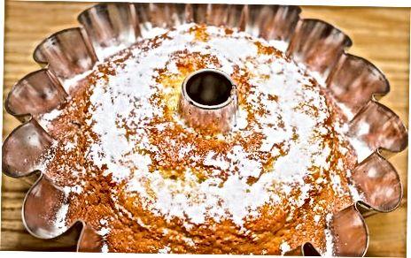 Shifon keki tayyorlash