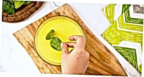 Incloure les fulles en plats específics