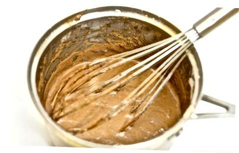 Een chocoladeschaaktaart bakken