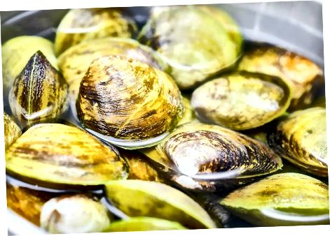 Making the Clam Broth