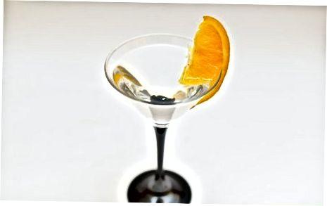 Freshening një Martini me agrume