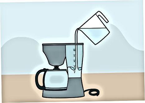 Usando una cafetera estándar