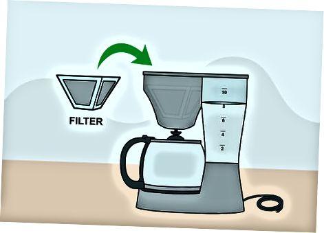 Utilisation d'une cafetière standard