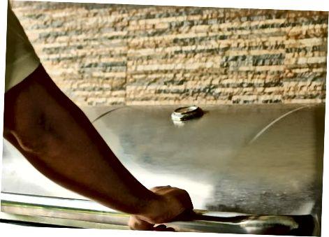 Кување турских ногу у пушачу