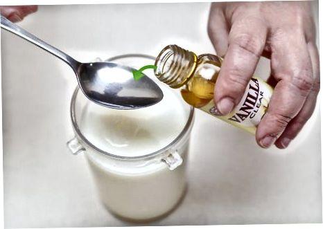 在干奶中添加其他口味