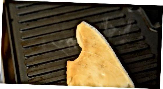 Balzam bilan marinadlangan qilichli baliq