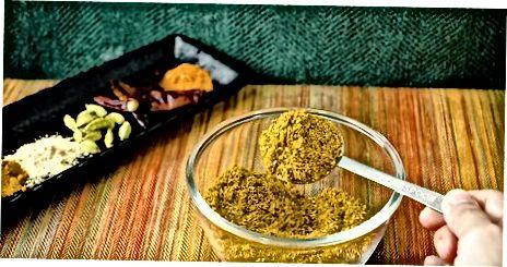 Obtenint el millor sabor de pols de curri