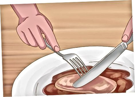 خوردن با چنگال