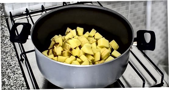 Zelfgemaakte Cheesy Potatoes