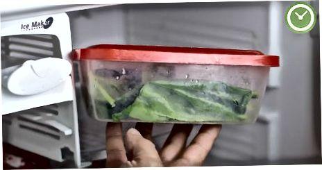 Verwenden Sie Ihren blanchierten Spinat