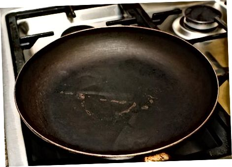 In der Pfanne fritiert