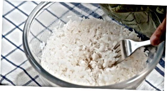 Mikrowelle Ihren Reis